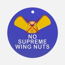 No Sup wing nuts Keepsake (Round)