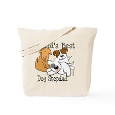 World's Best Dog Stepdad Tote Bag