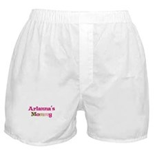 Arianna's Mommy Boxer Shorts