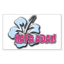 Hafa Adai! Rectangle Decal