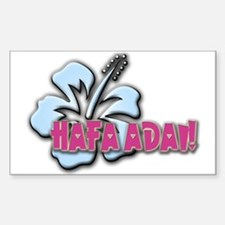 Hafa Adai! Rectangle Decal