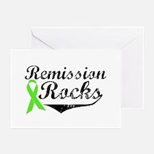 Lymphoma Remission Rocks Greeting Cards (Pk of 10)