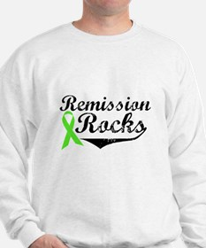 Lymphoma Remission Rocks Sweatshirt
