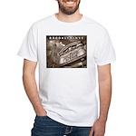 Downtown Atlantic Kiosk White T-Shirt