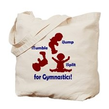 Funny Gymnastics kids Tote Bag