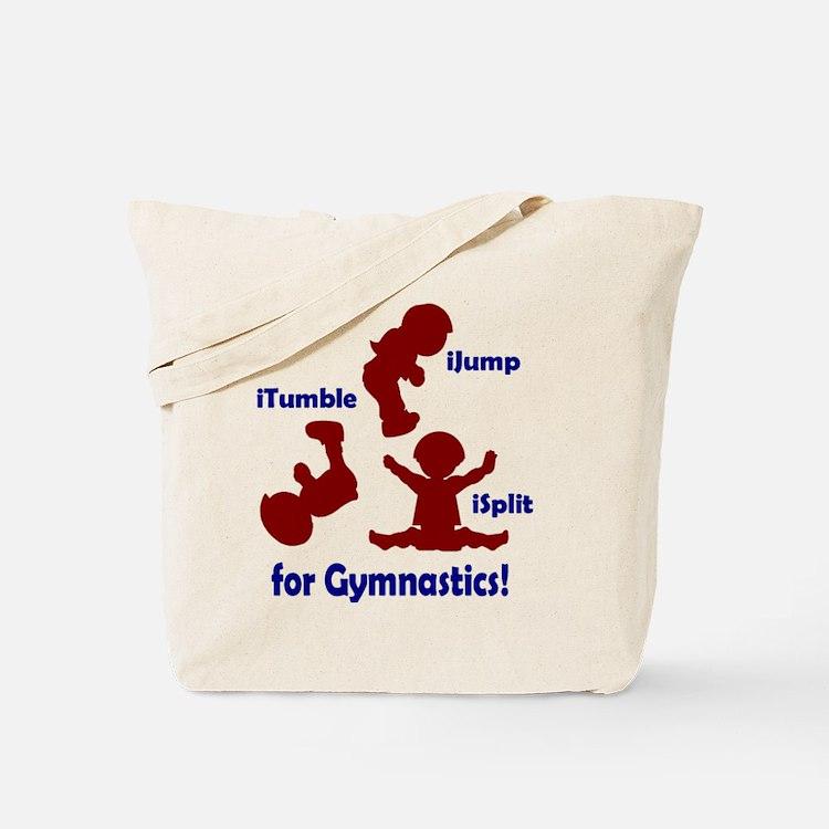 Cute Boys kids gymnastics Tote Bag