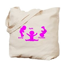 Cute Gymnastics kids Tote Bag