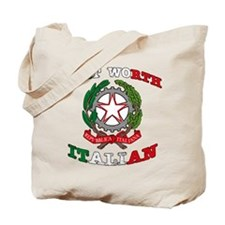 Fort Worth Italian Tote Bag