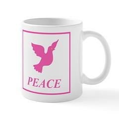 Pink Dove Mug