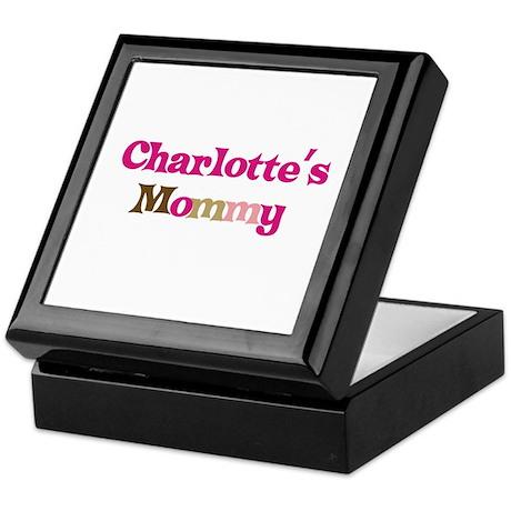 Charlotte's Mommy Keepsake Box