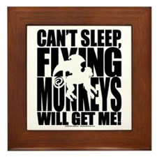 Can't Sleep, Flying Monkeys... Framed Tile