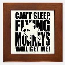 Can't Sleep, Flying Monkeys... Framed Tile
