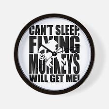 Can't Sleep, Flying Monkeys... Wall Clock