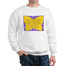 full butterfly Sweatshirt