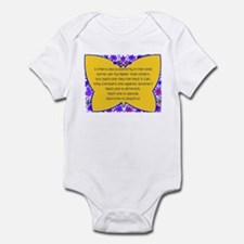 full butterfly Infant Bodysuit