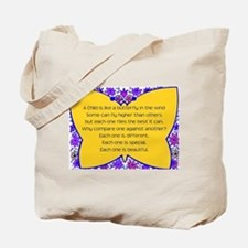 full butterfly Tote Bag