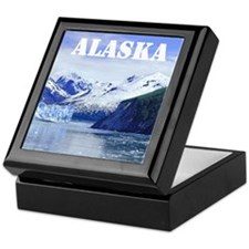 Beautiful Scenic Alaska Keepsake Box