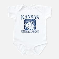 Kansas Anglers - Master Baiter Infant Bodysuit
