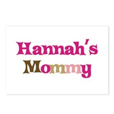 Hannah's Mommy Postcards (Package of 8)