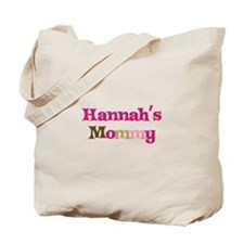 Hannah's Mommy Tote Bag