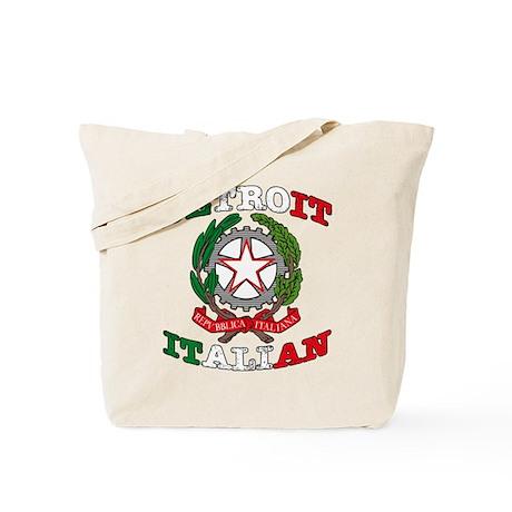Detroit Italian Tote Bag