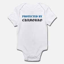 Protected by Chamorro Infant Bodysuit