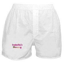 Isabella's Mommy Boxer Shorts