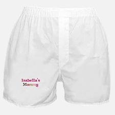 Isabella's Mommy Boxer Shorts