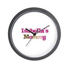Isabella's Mommy Wall Clock