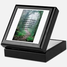 The Narrow Path Keepsake Box