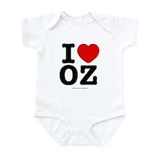 I Love OZ! Infant Bodysuit