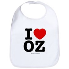 I Love OZ! Bib