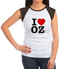 I Love OZ! Women's Cap Sleeve T-Shirt