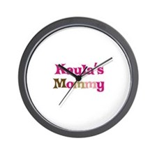 Kayla's Mommy Wall Clock