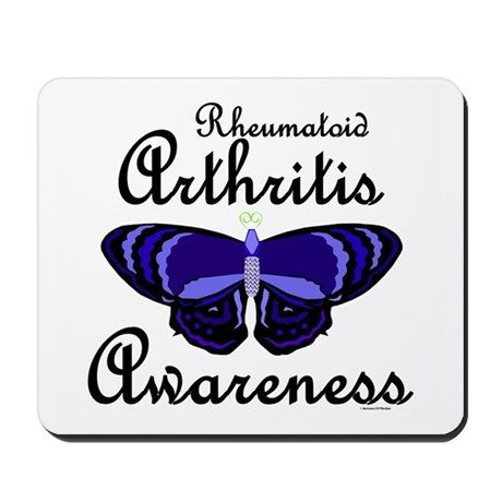Butterfly Awareness 2 (Rheumatoid Arthritis) Mouse