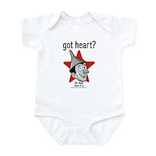 Got Heart? (Tin Man) Infant Bodysuit
