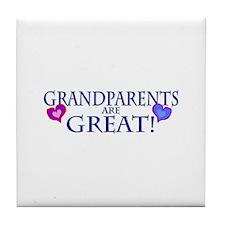 Grandparents Tile Coaster