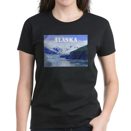 Beautiful Scenic Alaska Women's Dark T-Shirt