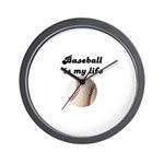BASEBALL IS MY LIFE Wall Clock