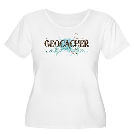 Geocacher Women's Plus Size Scoop Neck T-Shirt