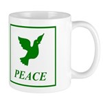 Green Dove Mug