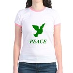 Green Dove Jr. Ringer T-Shirt