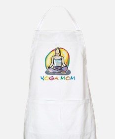 Yoga Mom BBQ Apron