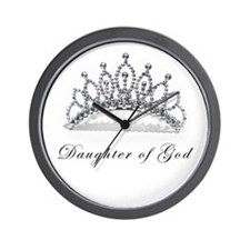 Cute Christian womens Wall Clock