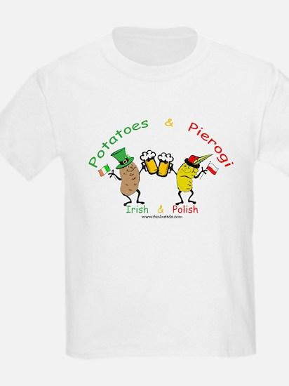 Irish & Polish Kids T-Shirt