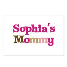Sophia's Mommy Postcards (Package of 8)
