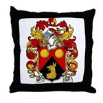 Garton Family Crest Throw Pillow