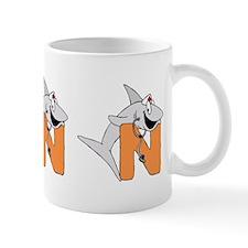 N is for shark Nurse Mug