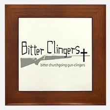 Bitter Clingers Framed Tile