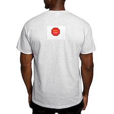 Fight Cancer Ash Grey T-Shirt